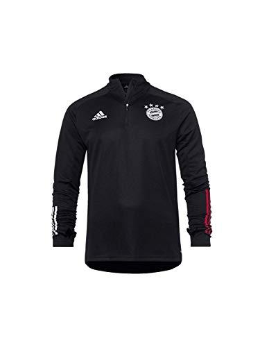 adidas Kinder 20/21 FC Bayern Training Top Trainingsshirt, Black/Fcbtru, 128