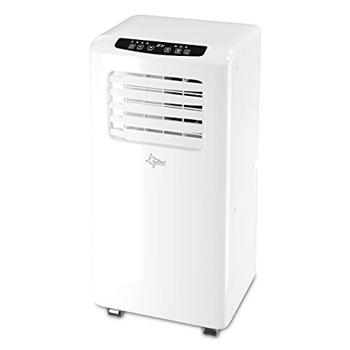 SUNTEC Mobiles lokales Klimagerät Impuls 2.0 Eco R290 | Klimaanlage für Räume bis 25 qm | Abluftschlauch |...