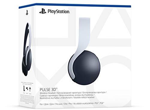 Sony PULSE 3D-Wireless-Headset Gaming-Headset, weiß/schwarz