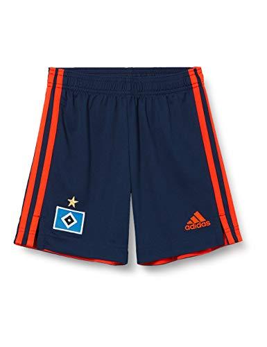 adidas Hamburg SV Saison 2020/21 Kurze Hose, 2. Ausrüstung, Unisex, Erwachsene M Maruni/Narfue