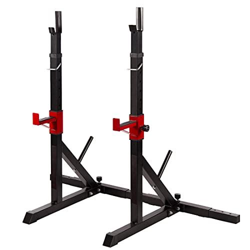 zoomyo Peak Power Hantelständer zur Aufbewahrung von Hanteln oder fürs Training, verstellbare Hantelablage...