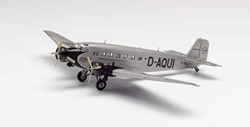 herpa 609395 19040 – Junkers Ju-52/3 m, Lufthansa D-Aqui, Military, Flieger, Modell Flugzeug, Modellbau,...
