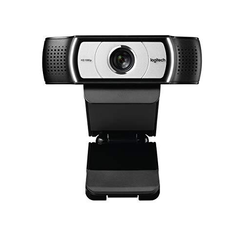 Logitech C930e Business-Webcam, Full-HD 1080p, 90° Blickfeld, 4-fach Zoom, Autofokus, RightLight...
