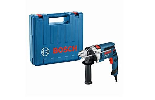 Bosch Professional GSB 16 RE Schlagbohrmaschine + Schnellspannbohrfutter 13 mm + Tiefenanschlag 210 mm +...