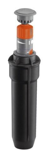 Gardena Sprinklersystem Turbinen Versenkregner T100: Bewässerungssystem für kleinere Rasenflächen von 50...