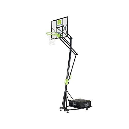 EXIT Galaxy versetzbarer Basketballkorb auf Rdern - grn/schwarz