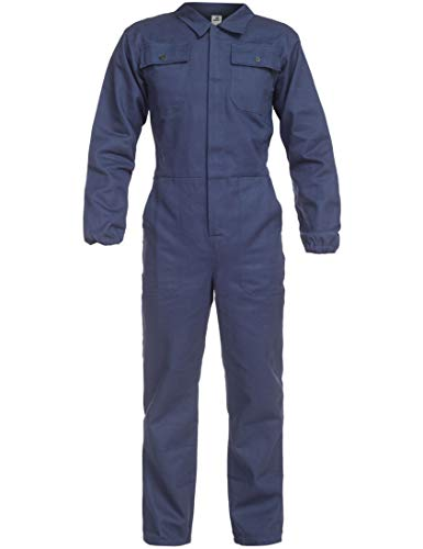 BWOLF ANAX Arbeitsoverall Herren Overall Herren Arbeitskleidung 100% Baumwolle Arbeitsoveralls mit 5 Taschen...