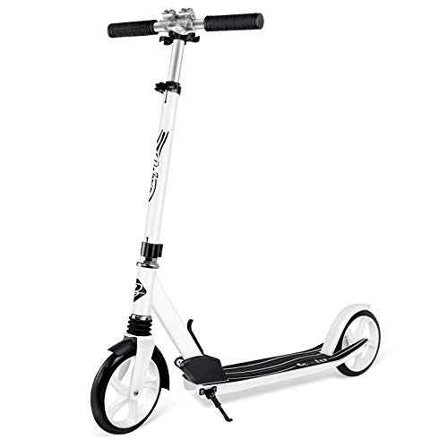 BELEEV Roller Erwachsene, Tretroller Kick Scooter mit 2 Rädern, Cityroller mit Federung, Schnellverschluss...