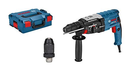 Bosch Professional Bohrhammer GBH 2-28 F (SDS-plus-Wechselfutter, 13 mm Schnellspannbohrfutter, bis 28 mm...