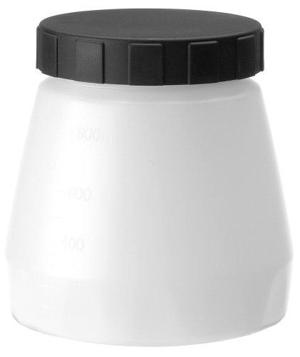 WAGNER Farbbehälter mit Deckel, 800 ml für WAGNER Farbsprühsysteme FLEXiO, Wood&Metal, WallSprayer