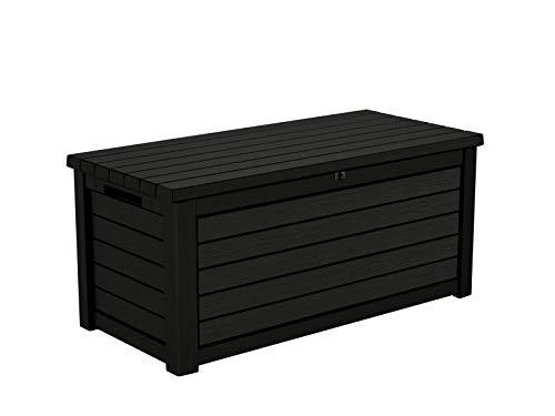 Koll Living Aufbewahrungsbox/Kissenbox Blackwood, 630 Liter trockener & belüfteter Stauraum - mit...