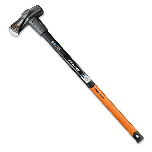 Fiskars Spalthammer (geschmiedet), 2 in 1: Axt und Hammer, Gewicht: 3,68 kg, Gehärtete...