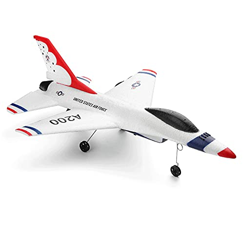 CHENBAI Zweikanaliges wie echtes Flugzeug, RC-Drohne, Starrflügel-Flugzeugmodell, ferngesteuertes Flugzeug,...