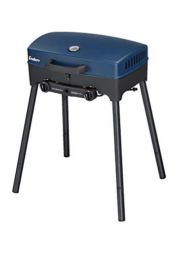 Enders® Camping Gasgrill EXPLORER NEXT, Grillen-, Kochen- und Backen Funktion, 2 Brenner Edelstahl, kleiner...
