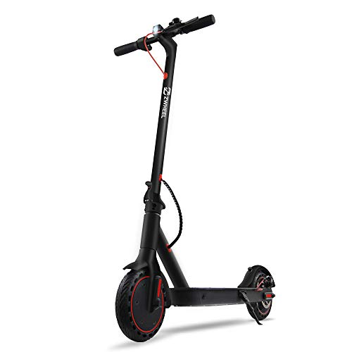 ZWHHEL Elektroscooter E9 Basic, E-Scooter für Erwachsene, klappbar, Motor 300W, Anti-Rutsch-Reifen 8,5 Zoll,...