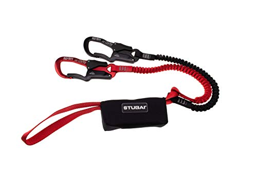 SUMMIT LIGHT Xi1 Klettersteig-Set, Sonderedition ohne Metallrastpunkt, inkl. 2x Summit Light Karabiner (1x Rot...