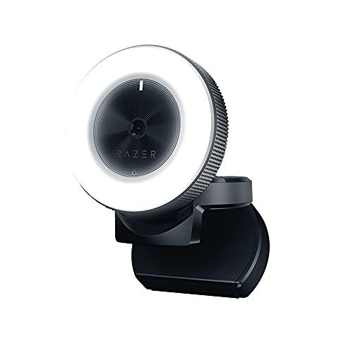 Razer Kiyo Desktop Streaming Camera with Ring Light High FPS HD Video US