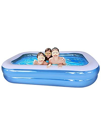 YUANYU Planschbecken,Pool Kinderpool Swimmingpool Aufstellpool Schwimmbecken Planschbecken für Kinder Pool...