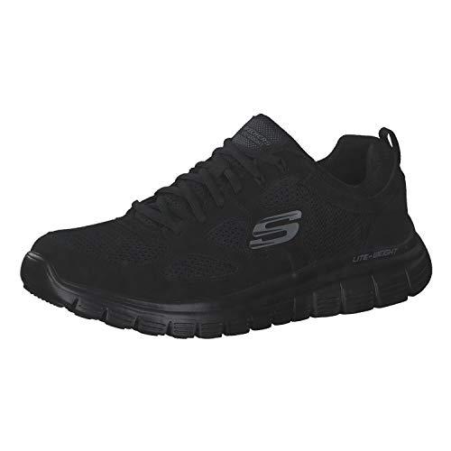 Skechers Herren Burns Sneaker, Schwarz (Black 52635-Bbk), 46 EU