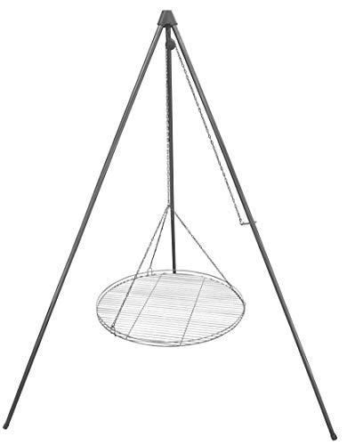 Huber Grillgeräte Dreibein Schwenkgrill inkl. 60 cm Rost aus Deutscher Produktion