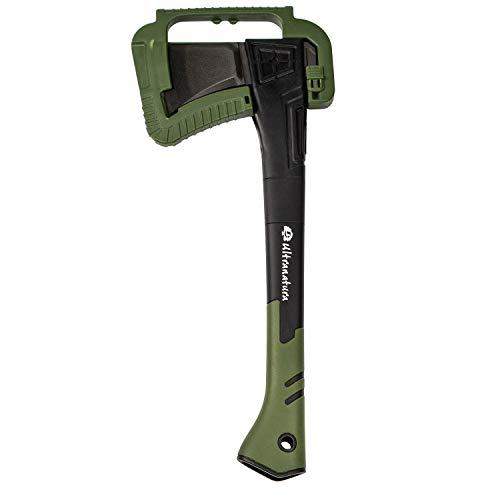 Ultranatura Spaltaxt, inklusive Klingenschutz, Grifflänge ca. 46 cm, vielseitiges Werkzeug für jeden...