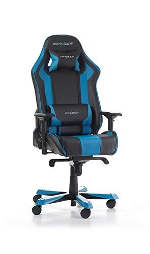 DXRacer Gaming Stuhl, OH/KS06/NB2, K-Serie, schwarz-blau
