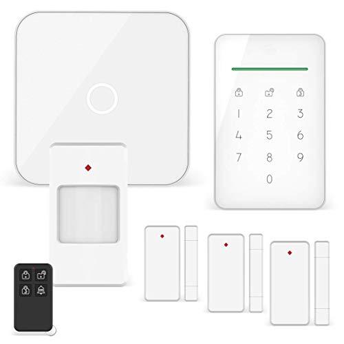 ELRO AS90S Home+ Smart Alarmanlage-WiFi-GSM Funktion-Bestens getestet-Mit Basisstation, Bedieneinheit,...