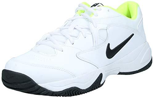 Nike Herren Court Lite 2 Tennisschuhe, Weiß (White/Black-Volt), 44.5 EU