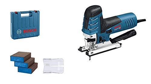 Bosch Professional GST 150 CE (case, 1x balde, dust cover + adapter, plastic shoe, splintering guard, 3...
