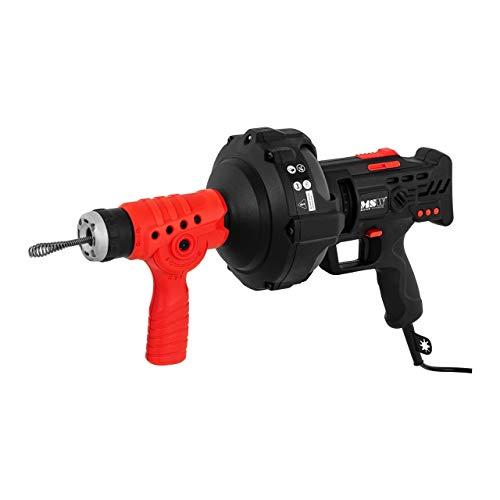 MSW MSW-DRAIN CLEAN 7.5 Rohrreinigungsmaschine Rohrreinigungsgerät 240 W 580 U/min 7,5 m Ø 19 bis 40 mm
