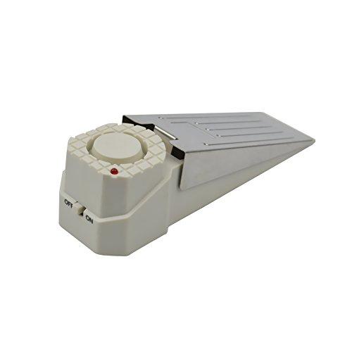 [1 Stück ] Weiß Alarmtürstopper Alarm Stopper Türstopper Schlafzimmer Stopper Türalarm Einbruchschutz...
