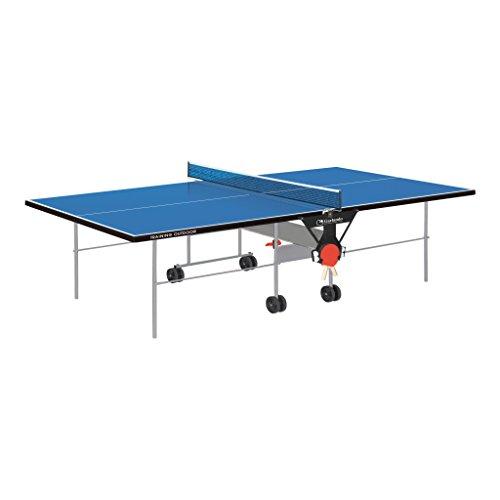 Garlando Tischtennisplatte Training Outdoor Con Ruote Per Esterno blau