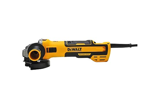 DeWalt Winkelschleifer (1500 Watt, 125 mm mit Drehzahlelektronik, mit Sanftanlauf und Nullspannungsschutz)...