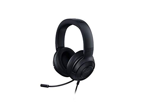 Razer Kraken X - Gaming Headset (Ultra leichte Gaming Headphones für PC, Mac, Xbox One, PS4 und