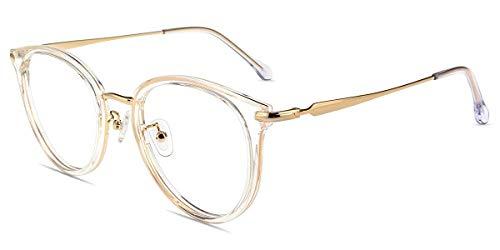 Firmoo Anti Blaulicht Brille Blaulichtfilter Computer Brille Gegen Augenmüdigkeit, Kopfschmerzen,Vintage...