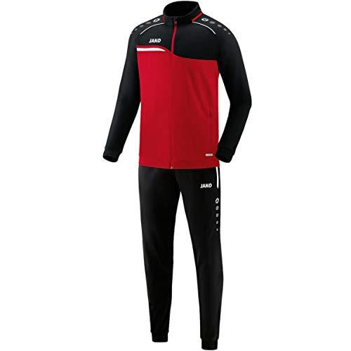 JAKO Herren Competition 2.0 Trainingsanzug Polyester, rot/Schwarz, M