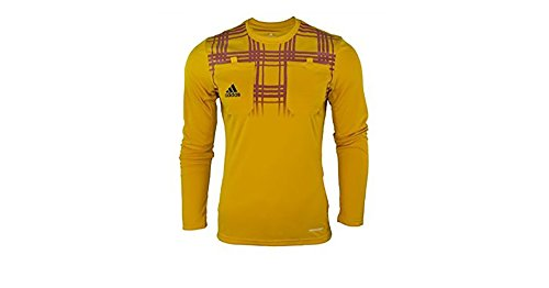 Adidas UEFA Europa League Fussball Schiedsrichter Trikot Formotion Climacool (gelb, M)
