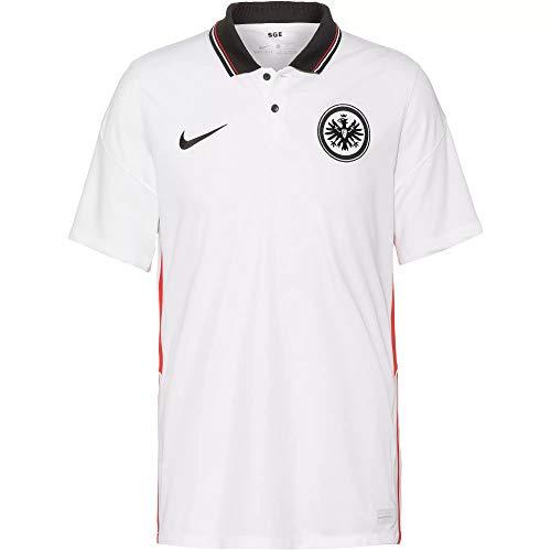 Nike Eintracht Frankfurt Stadium Trikot Away 20/21 (XXL, White/Black)