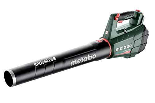 Metabo 601607850 Laubbläser LB 18 LTX BL (Laubgebläse ohne Akku, Luftgeschwindigkeit 150 km/h, Luftmenge 650...
