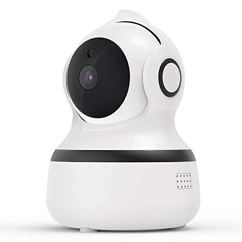 Überwachungskamera Innen WLAN Handy, 1080P FHD WLAN IP Kamera ,Nachtsicht,Bewegungserkennung,2 Wege Audio und...