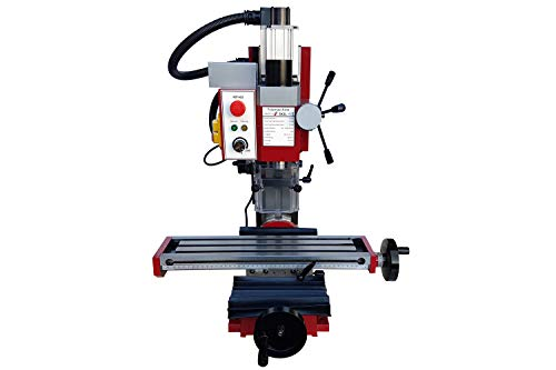 PAULIMOT Bohr-/Fräsmaschine SIEG SX2L mit bürstenlosem Motor und neigbarer Z-Säule