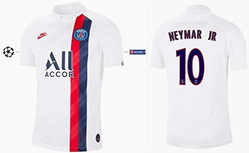 PSG Trikot Kinder 2019-2020 Third UCL (Neymar Jr 10, 152)