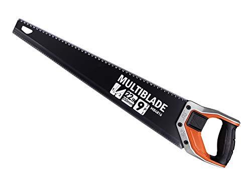 Multiblade Professioneller Handsäge 550mm, 9TPI, SK5, Aluminium Handgriff