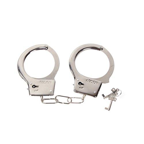 LUOEM Polizei Spielzeug Polizei Rolle Spielen Spielzeug Metall Handschellen Spielzeug Walkie Talkie Polizei...