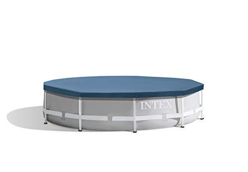 Intex Round Pool Cover - Poolabdeckplane - Ø 305 cm - Für Metal und Prism Frame Pool