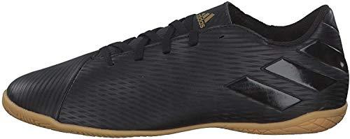 adidas Herren F34529_43 1/3 Indoor football trainers, Schwarz, 43 1 3 EU