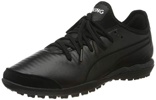 PUMA Unisex King Pro Tt Fußballschuh, Black White, 44 EU