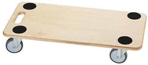 Dörner + Helmer Möbelroller (Stabil Soft 590 x 290 mm mit Gummirollen Tragkraft 200 kg, rechteckig) 290698