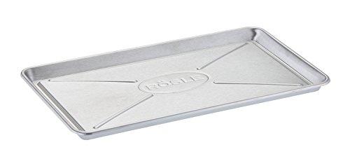 RÖSLE Universalschale, Edelstahl 18/10, 36 x 20 cm, Tropfschale für Grill, spülmaschinengeeignet