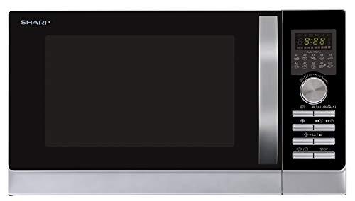Sharp R843INW 3-in-1 Mikrowelle mit Heißluft, Grill und Konvektion/ 25 L / 800 W / 1000 W Grill / 2500...